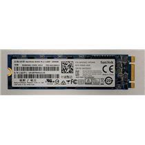 Sandisk X400 m.2 2280 SSD 256GB SATA III 6Gbps SD8SN8U-256G Dell K0GGC