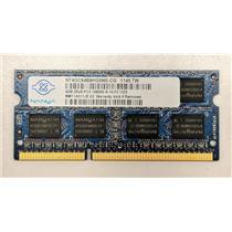 Nanya 4GB 2Rx8 PC3-10600 DDR3-1333 non-ECC Unbuffered 1.5V NT4GC64B8HG0NS-CG