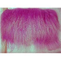 "2""sq  frosted lavender  tibetan lambskin no seams 11853"