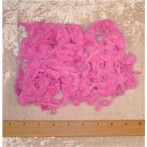 1 oz hand dyed Ingeo fiber Bright pink  22043 clearance