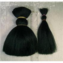 natural hair 8' yak hair black 1 oz  22237
