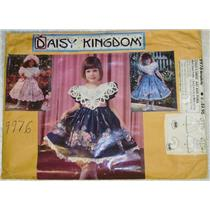 Daisy kingdom girls dress fancy collar sz 3-8 22728