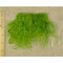 Lime green tibetan lambskin sample 23243