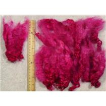 Cotswold wool locks  medium fuschia 1oz  23451