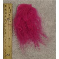 Fuschia 2  tibetan lamskin scrap sample  23879