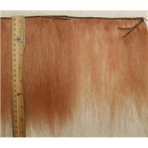 "mohair weft Strawberry coarse textured 8 x 43"" 24065 HP"