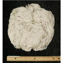 Hand spun banana silk/ viscose yarn 202g 7.2 oz  24153