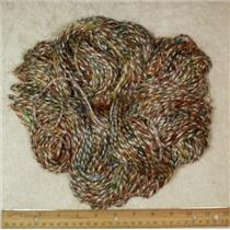Hand spun sari silk/ viscose yarn 198 g 7 oz  24155