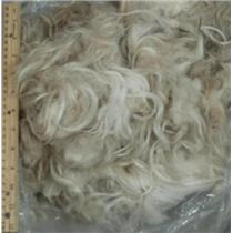 "Mohair raw white fine adult straighter 3oz 3-8"" 24398"