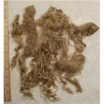 "Suri Alpaca 6-10"" cria dyed Natural Blonde 1 oz 24471"