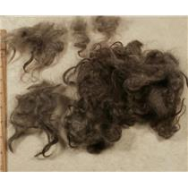 "Mohair washed adult silver to dark gray wavy 3-6""  1 oz 24797"