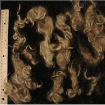 natural blonde angora goat Mohair soft wave 1 oz  24916