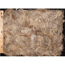 Suri Alpaca wool ,seconds cream and red brown 11.5 oz pack 25087