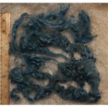 blue B light 0.05%  angora goat Mohair bulk dyed 1 oz 25092