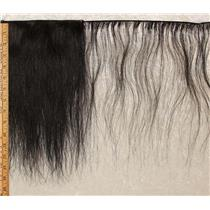"Horse hair weft Natural dark Brown straight 10 to 15"" x 65"" 25446 HP"
