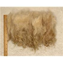 "Mohair raw white fine adult loose wave 3oz 5-9"" 24403"