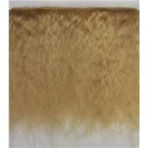 "mohair weft Dark blonde 4-6"" 1/2 yd doll hair 22681 QP"