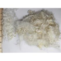 "2-5"" satiny high luster  curly - wavy washed fine mohair 1 oz doll hair  26129"
