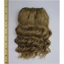 "mohair weft coarse Ah blonde 16D wavy weft 7-9x200"" 90-100g  FP 26270"