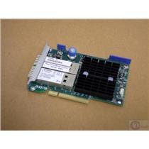 HP 656090-001 Infiniband 2-Port 10/40Gbps NIC 649282-B21 544FLR-QSFP Adapter