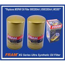 Set (2) Replaces MOPAR DODGE RAM 2500 3500 5.9L 6.7L DIESEL Oil Filter 5083285AA