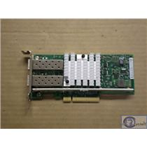 Dell / Intel X520-DA2 Dual Port 10Gbe SFP Network Adapter NIC 942V6 Low Profile
