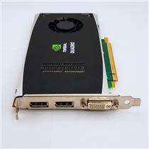 NVIDIA Quadro FX1800 768MB PCIe GDDR3 Graphics Card Dual Display Port 519296-001