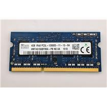 Hynix 4GB PC3-12800 DDR3-1600 non-ECC Unbuffered Laptop RAM HMT451S6BFR8A-PB