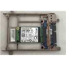 """Dell VH761 128GB mSATA SSD MZ-MTE128D PM851 MZMTE128HMGR-000D1 w/ 3.5"""" Adapter"""