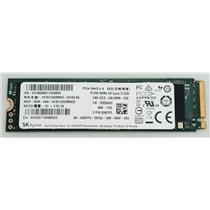 Dell Hynix 512GB NVMe PCIe Gen 3 m.2 2280 PC300 SSD SATA HFS512GD9MND 0WYP0