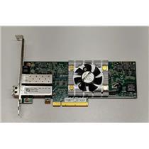Dell Dual-Port QLE8262L PCI Express x8 Network Adapter C852G w/ 1x SFP