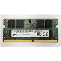 Micron 8GB PC417000 DDR4-2133 nonECC Unbuffered SODIMM 1.2V MTA16ATF1G64HZ-2G1B1