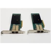 Brocade 1020B Dual Port 10Gb PCI-E CNA Adapter High Profile bracket LOT OF 2