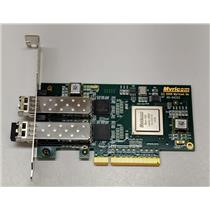 Myricom 10G-PCIE-8B-2S PCIe 10Gb SFP Adapter Controller Card 05-04233 w/ SFPs