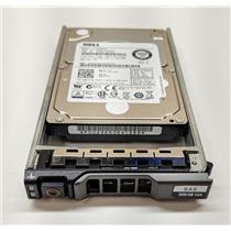 """Dell HDEBC03DAA51 300GB 10K SAS 2.5"""" HDD MTV7G AL13SEB300 w/ R-Series Tray"""