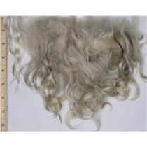 "Mohair raw white fine adult straighter 2.4 oz 3-6"" 26661"