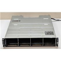 """Dell PowerVault MD3200i 12x 3.5"""" HDD Bay Barebones w/ 2x MD32 770D8 Controllers"""