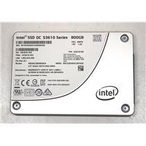 """Intel SSD DC S3610 Series SSDSC2BX800G4 800GB SATA III 6.0Gbps SSD 2.5"""""""