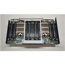 Dell 8HJ4P PowerEdge R820 CPU/Memory Expansion Riser Board w/Dual Heatsinks
