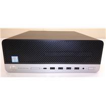 HP ProDesk 600 G4 SFF Desktop i5-8500 4GB 500GB HDD Win 10 Pro 4HJ10UT PC ONLY