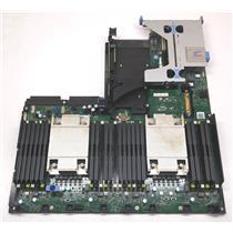 Dell CNCJW Poweredge R630 2x LGA2011 Motherboard w/Heatsinks, Risers-NG4V5/YNF4C