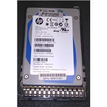 "HP 690815-001 200GB 2.5"" SSD 6Gb/s SAS MO0200FCTRN 690811-001 w/ Tray"