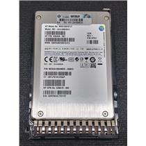 "HP 636619-002 100GB SATA 6Gbps 2.5"" MLC SSD MZ5EA100HMDR 636458-001 w/ Tray"