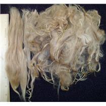 Suri Alpaca extra long cria wool light brown 1 oz 22065