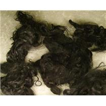 angora goat Mohair bulk dyed  black curls   22807