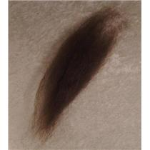 medium neutral brown  color sample on mohair  22973