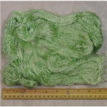 bombex silk fibers 14 g  0.5 oz dyed light green 23818