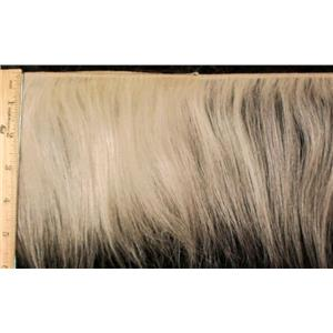 "mohair weft natural undyed straight 5-6""x240""  24199 FP"