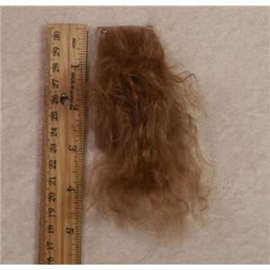 light R brown tibetan lamskin scrap sample  24327