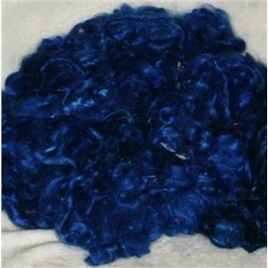 angora goat Mohair bulk dyed royal blue 2R 1 oz 24593